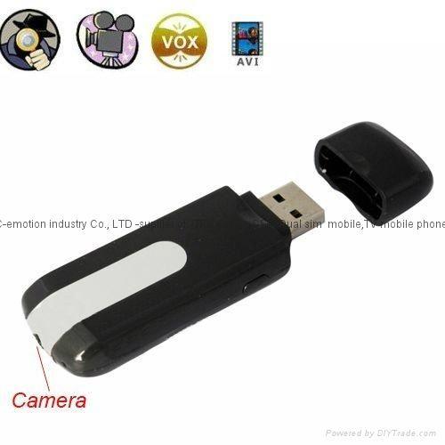 Flash Memory Pen Drive Camara Espia Detector Movimiento Precio 40