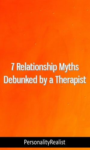 7 Relationship Myths Debunked by a Therapist #MBTI #INFP ISFJ #ISFP