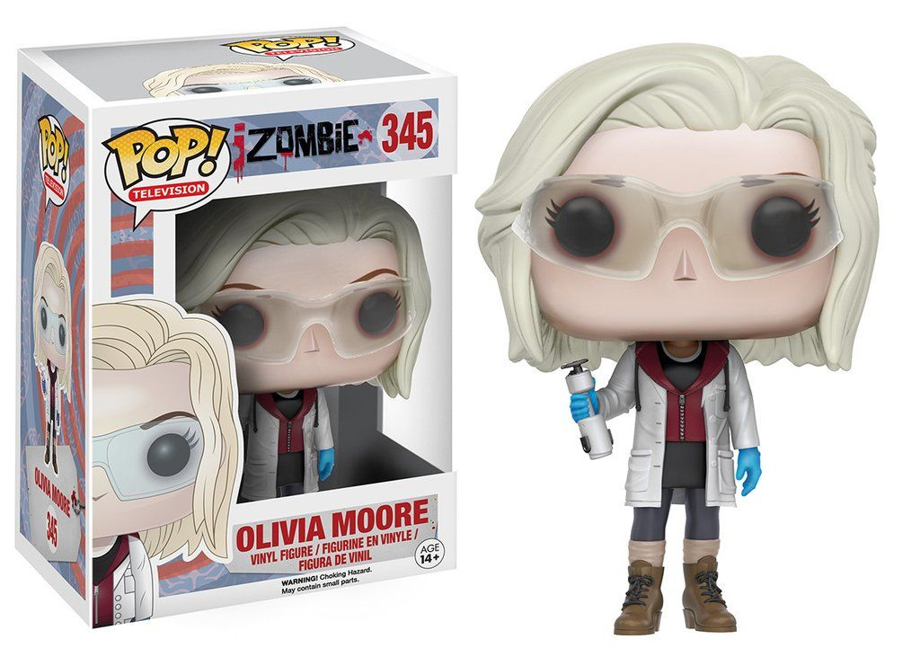 Pop! TV iZombie Olivia Moore with Glasses Pop vinyl