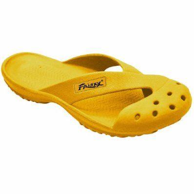 Sandals Flipflops Yellow £14 Beach Frisky Mens Wear 95 Shoes SqVUzpGM