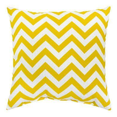 Kohls Decorative Pillows Gorgeous Zigzag 60pk Outdoor Square Decorative PillowsKohls For The Home