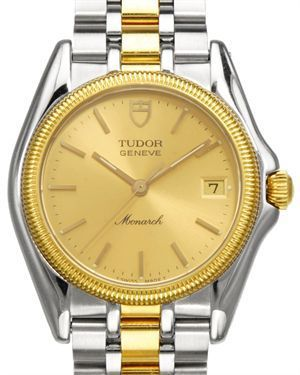 Rolex tudor geneve 18k yellow gold stainless steel watch only time will tell watches rolex for Tudor geneve watches