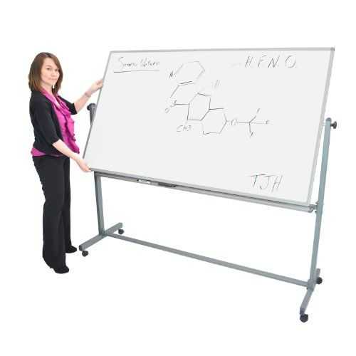 Offex Mobile 72×40(WxH Inches) Double Sided Dry-Erase Magnetic Whiteboard Easel With Silver Frame, 4 Casters  http://www.cheapindustrial.com/offex-mobile-72x40wxh-inches-double-sided-dry-erase-magnetic-whiteboard-easel-with-silver-frame-4-casters-2/