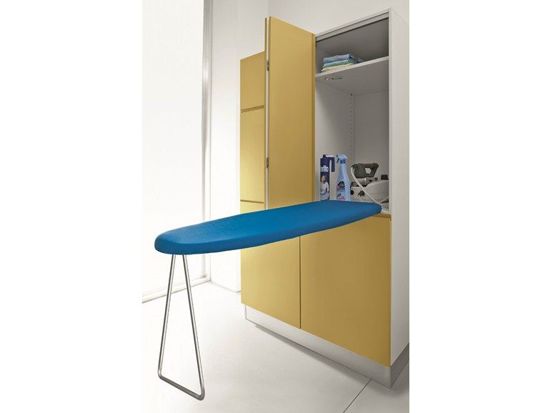 Tall Laundry Room Cabinet With Ironing Board Idrobox Idrobox Collection By Birex Armoires De Buanderie Stockage De Plache A Repasser Table A Repasser