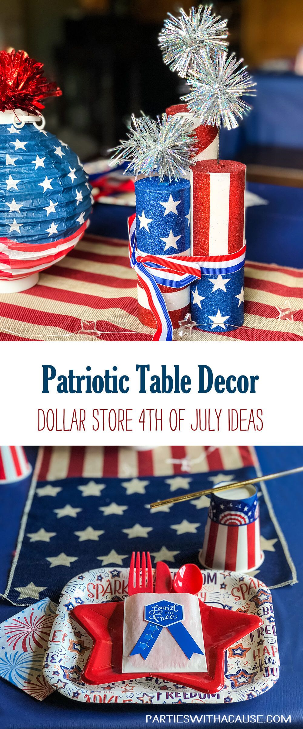 4th Of July Decoration Ideas 4th Of July Decorations Patriotic Decorations Fun Decor