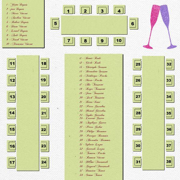 page avec le plan de table et la liste des invités   07-scrap
