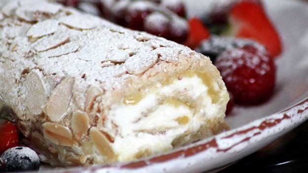 lemon merengue roll
