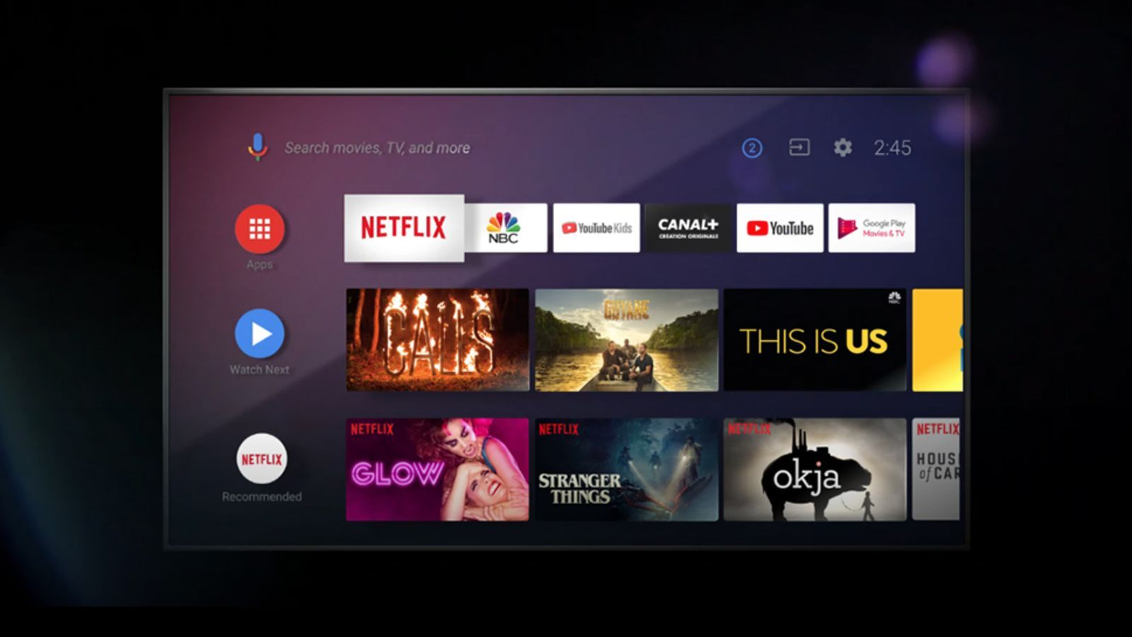 Android Tv Is Good Now Smart Tv News Apps Android