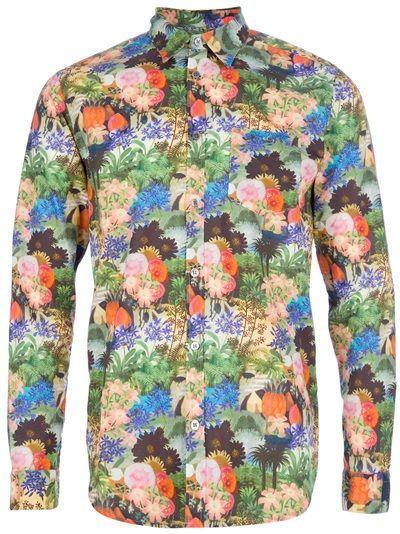 Department 5 Floral Shirt
