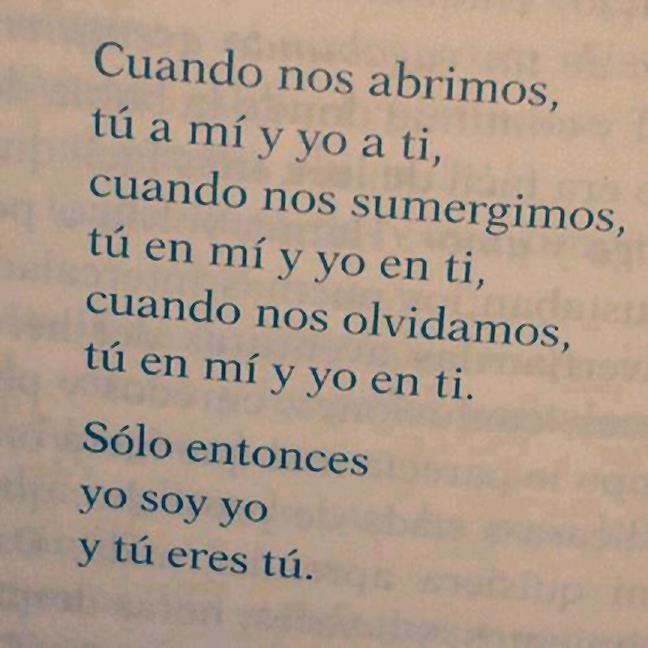 solo yo y tu eres tu
