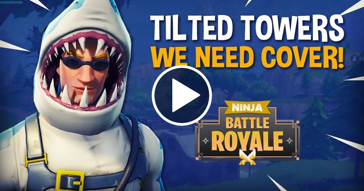 Tilted Towers We Need Cover Fortnite Battle Royale Gameplay