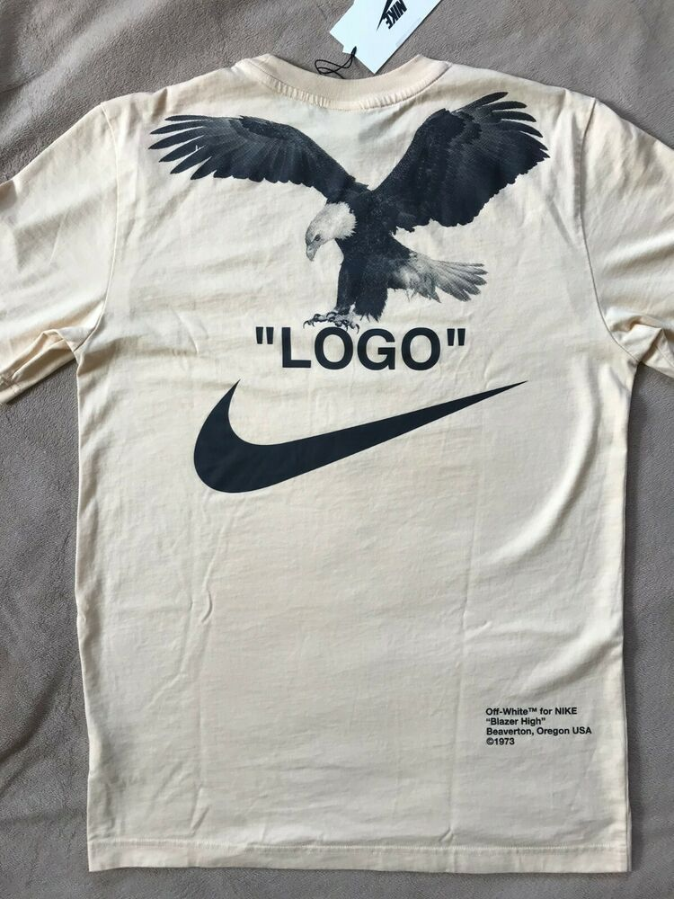 Sponsored Ebay New Off White X Nike Nrg A6 Tee Vanilla Size