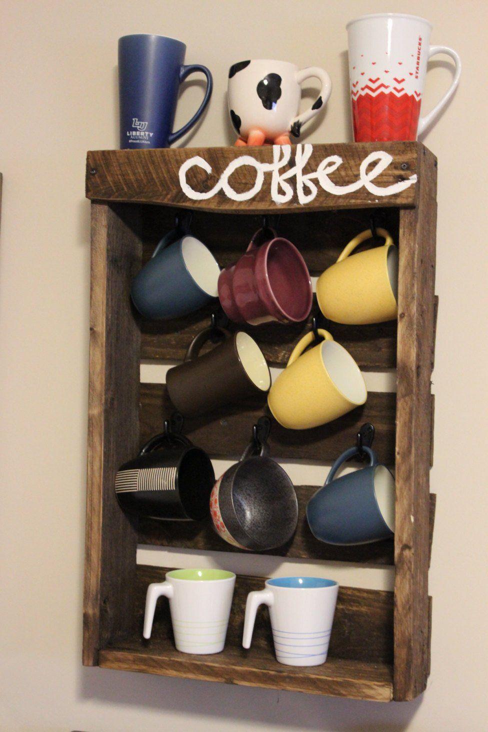 20 Creative Diy Coffee Cup Holder Ideas Coffee Cups Diy Diy