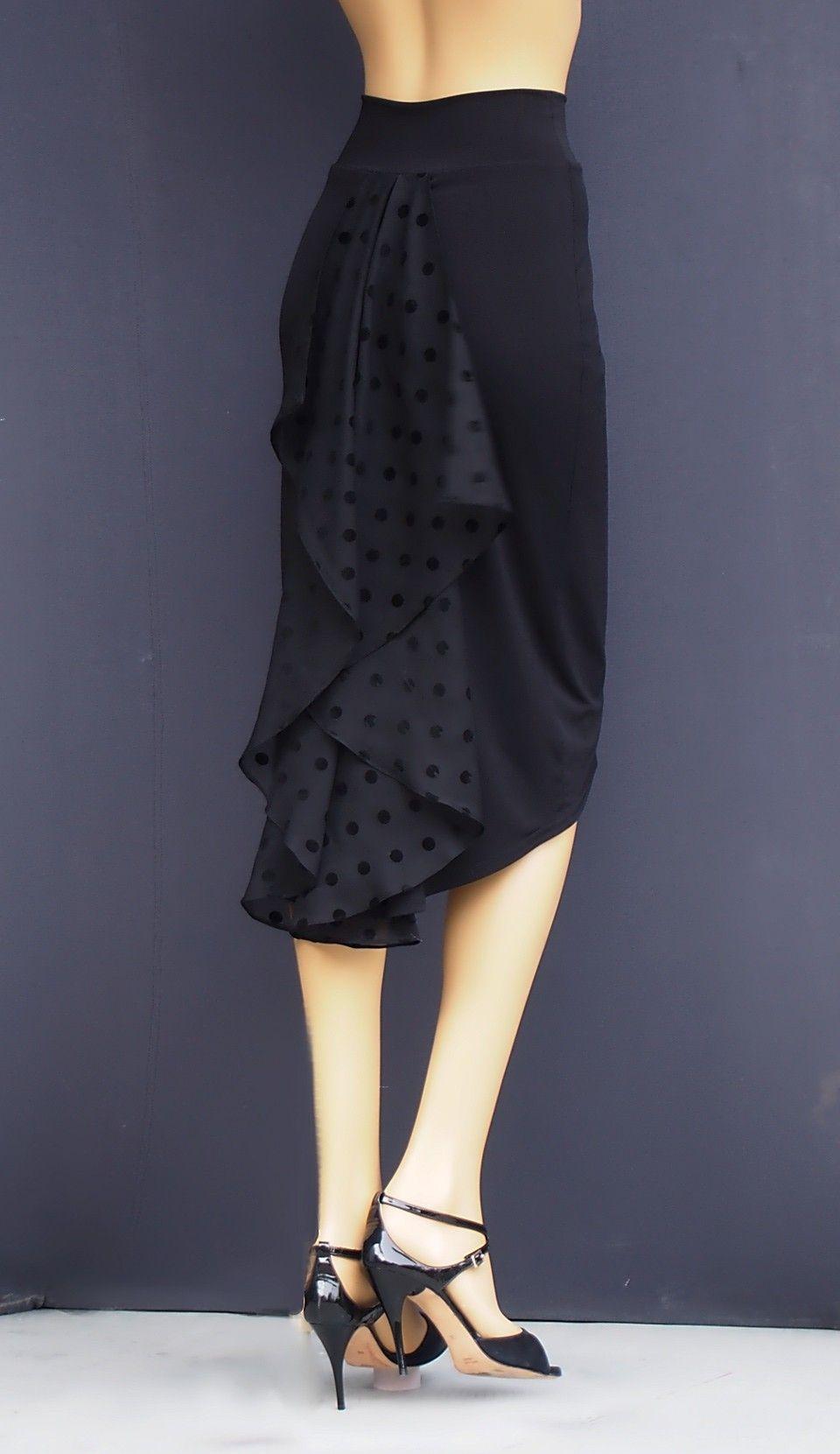ea822e9740 td 029 tango pencil skirt | Tango & Milonga Fashion | Tango dress ...