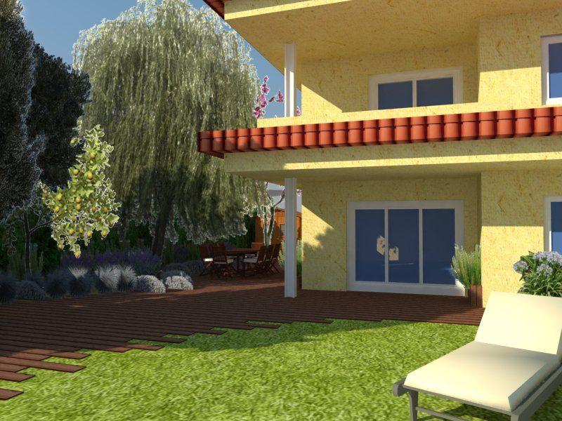 Casas contemporaneo exterior jard n patio sillas for Decoracion exterior jardin contemporaneo