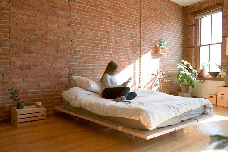 The Floyd Platform Bed A Modern And Modular Bed Frame Modular