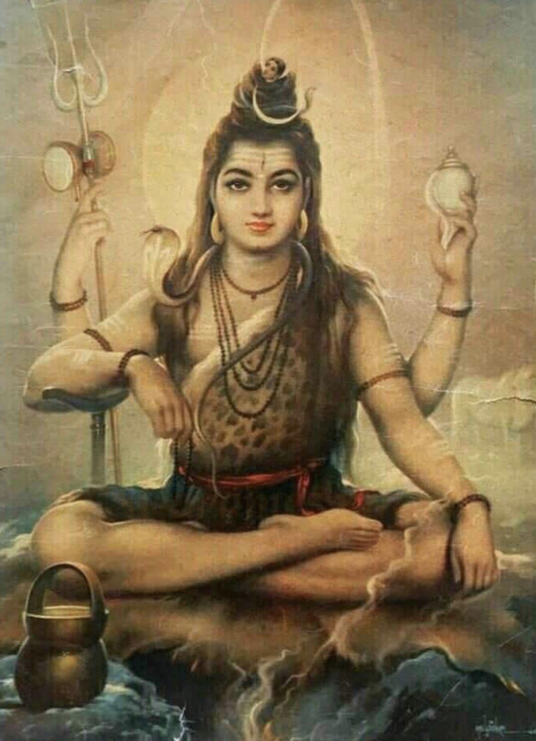 Pin By Louise Ellis On Ashtanga Yoga With Images Rudra Shiva God Shiva Shiva