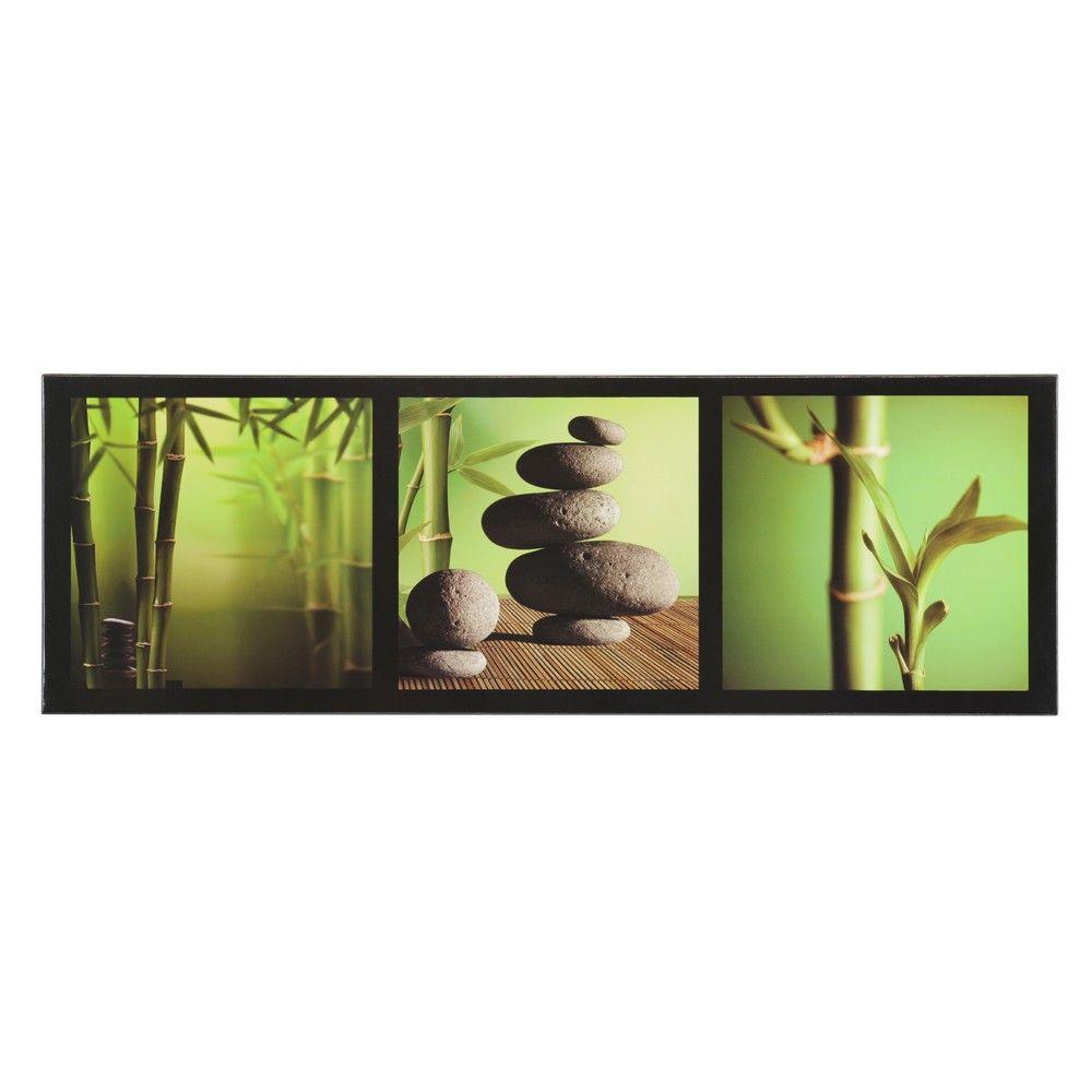 Quadro laccato bambù Zen