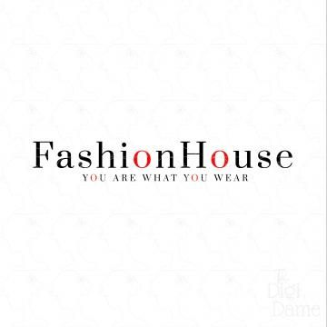 Fashion House Logo Design For Sale By The Digi Dame On Zibbet Purchase Exclusively Customise For Your Busi Fashion Logo Design House Logo Design Logo Design