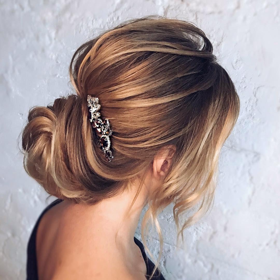 wedding updos for medium length hair,wedding updos,updo hairstyles,prom hairstyles #updohairstyle #wedding #weddinghairstyles