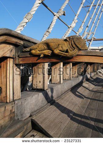 Deck Of Old Spanish Galleon By Alexander Chaikin Via Shutterstock
