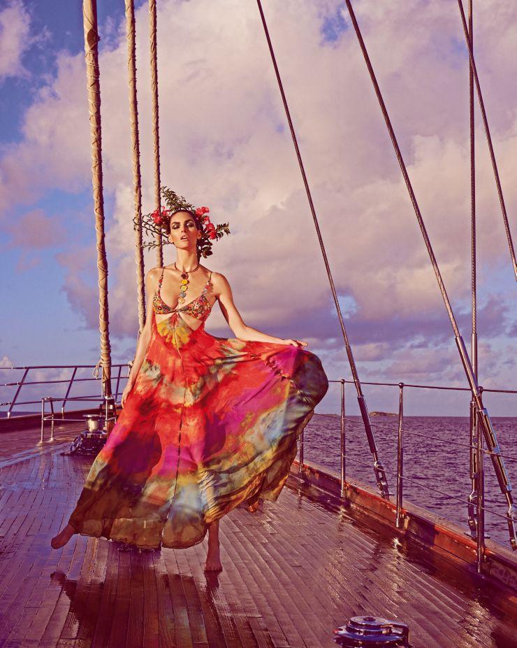 Hilary Rhoda by Mariano Vivanco for Vogue Japan May 2015 2