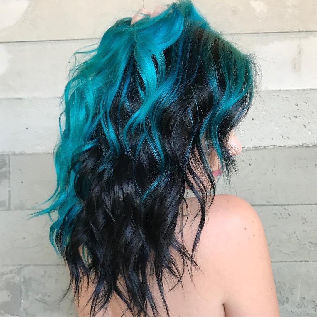 PERI GERDA® - Hair Color Wax Disposable in 2020 | Teal hair, Dyed hair, Hair styles