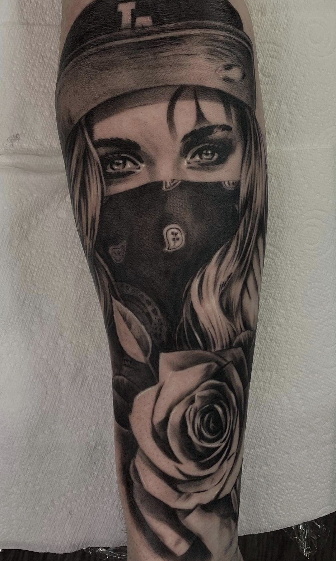 Clown Girl Tattoo Meaning: Pin De Shorty HPS En Clown Girl