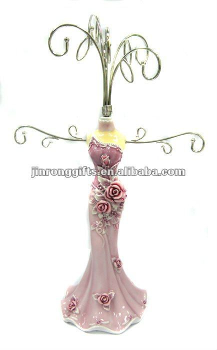 Jewelry Holder for Necklaces Earrings and Bracelets in Victorian