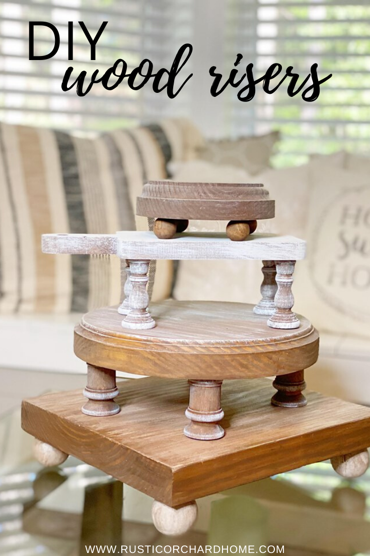 Photo of DIY Wood Riser Ideas | Rustic Orchard Home