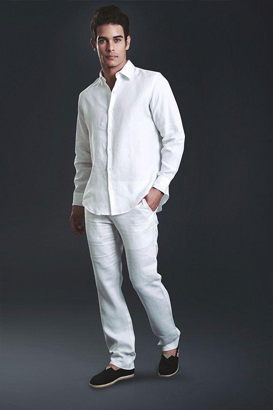 a7c6d5995 IMG_7045-1.--PANTALÓN-LINO-BLANCO- | roxy | Pantalón blanco ...