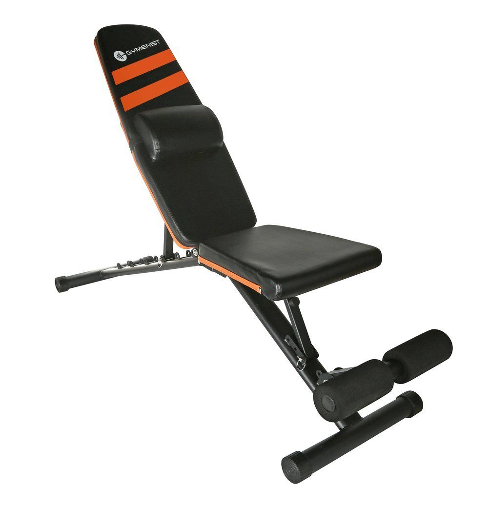 Gymenist Exercise Adjustable And Foldable Weight Bench Exercise Benches Adjustable Weight Bench Weight Benches
