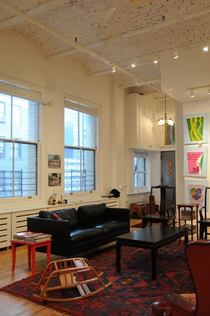 Beautiful NYC Loft. Apartment Therapy.