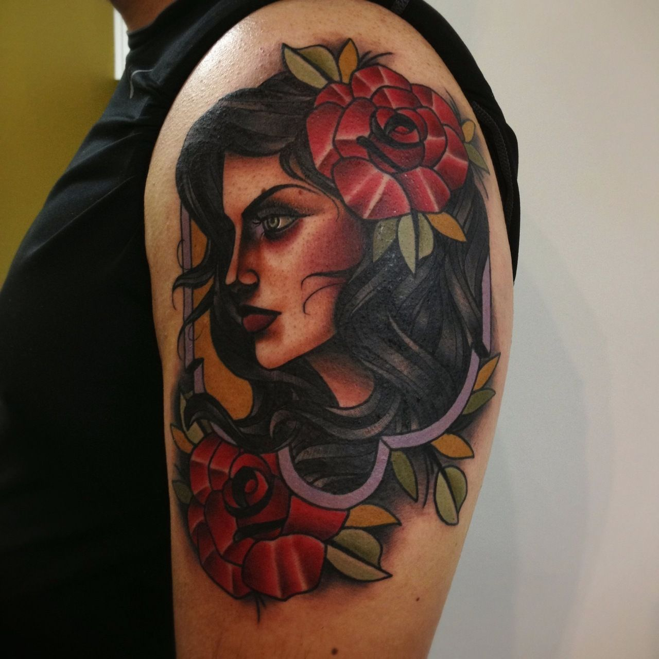 Watercolor tattoo artists in houston texas - Done By Abel Sanchez At Red Dagger Tattoo Studio In Houston Tx Instagram