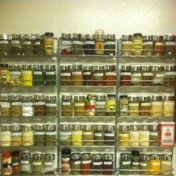 Amazon.com: Avonstar Trading 101 5-Tier Spice Rack, Chrome: Kitchen & Dining