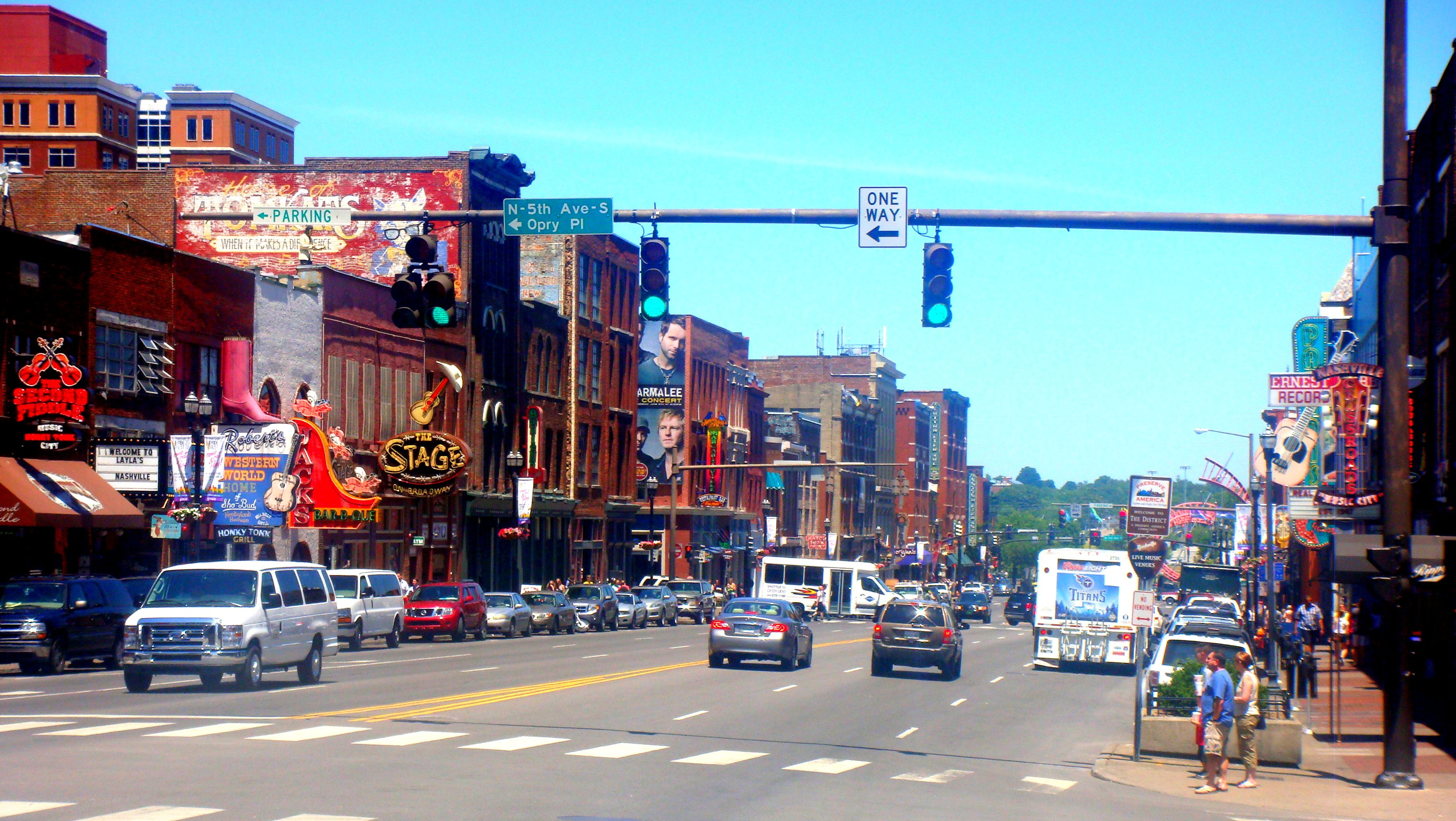 Downtown Nashville, Tennessee August 2013 trip was a