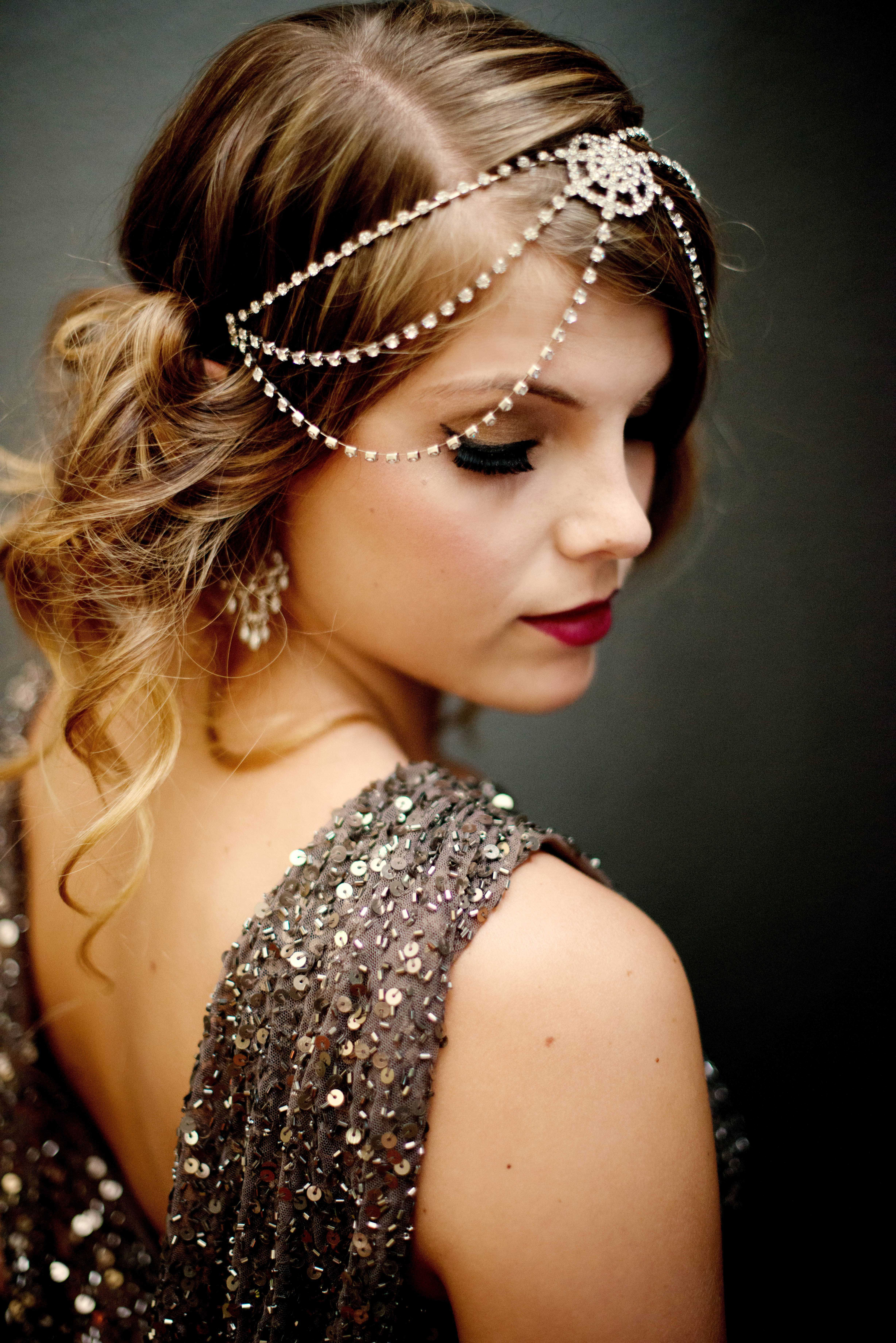 Pretty Hairstyles for Long Hair s Great Gatsby
