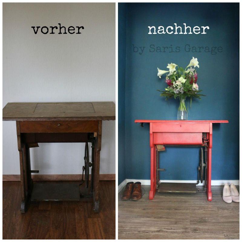 Moebel Selber Bauen Camper: Nähmaschine - Saris Garage - DIY - 1