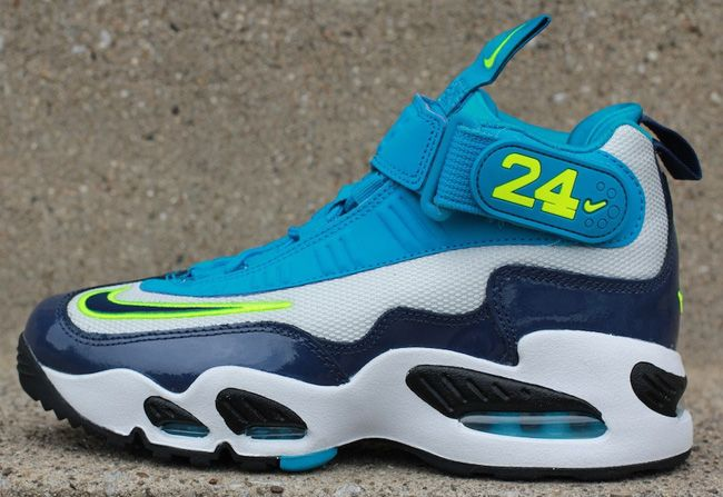 Nike Air Griffey Max 1 QS Cool Grey Marina Blue Available on