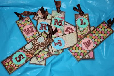 Scrap Your World: Getting ready for the Craft Fairs!! Bookmarks