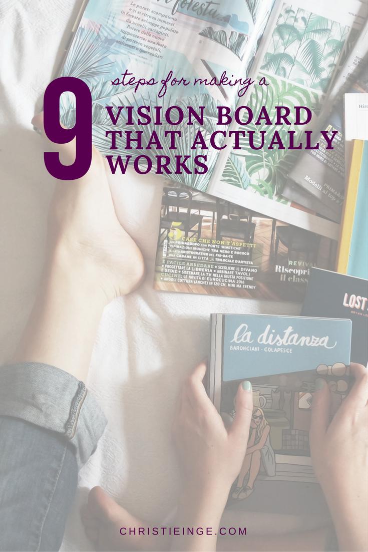 Posizione Divano E Tv how to make a vision board that actually works via