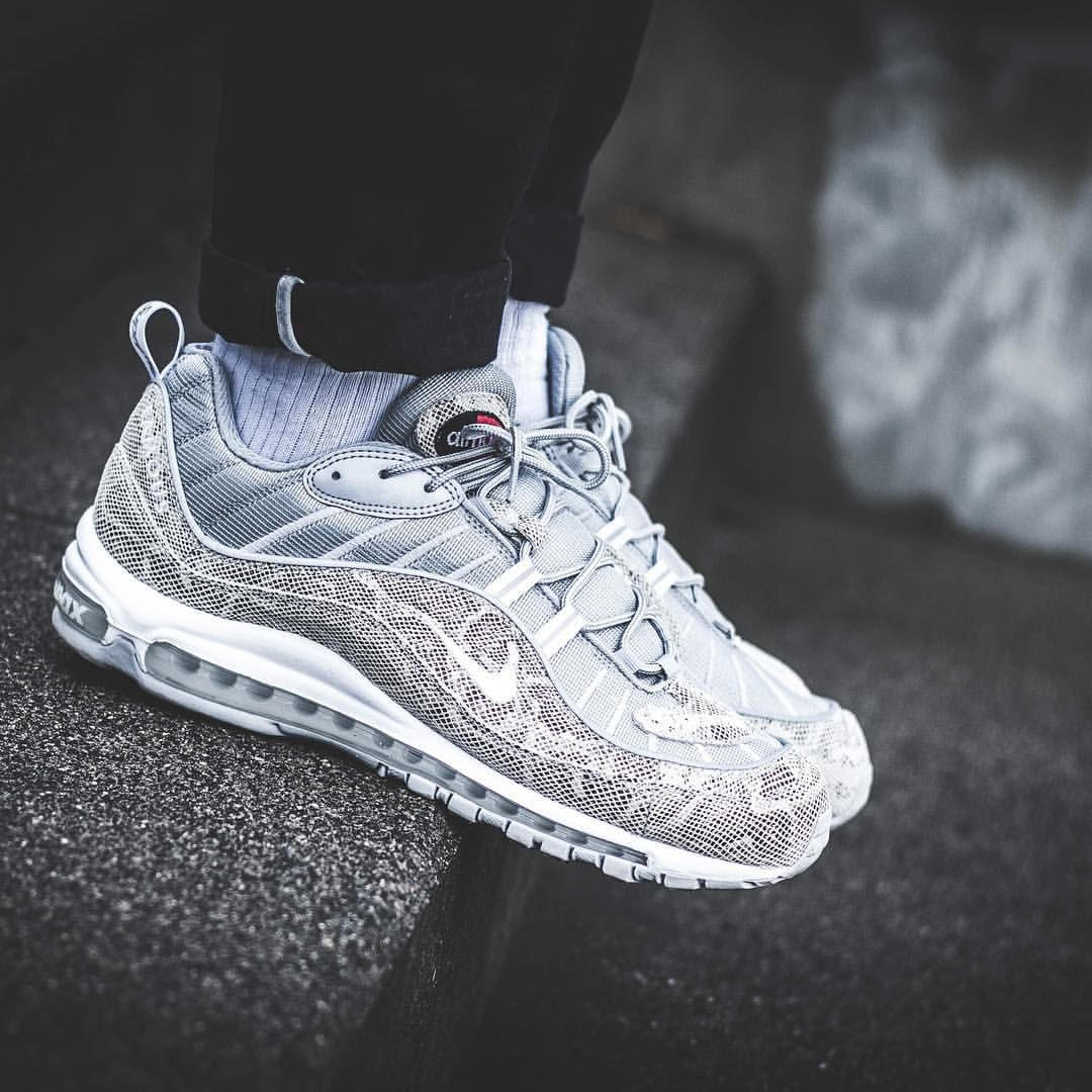 14a1c1e29d Supreme x Nike Air Max 98 | My Type of Kicks | Sneakers nike, Nike ...