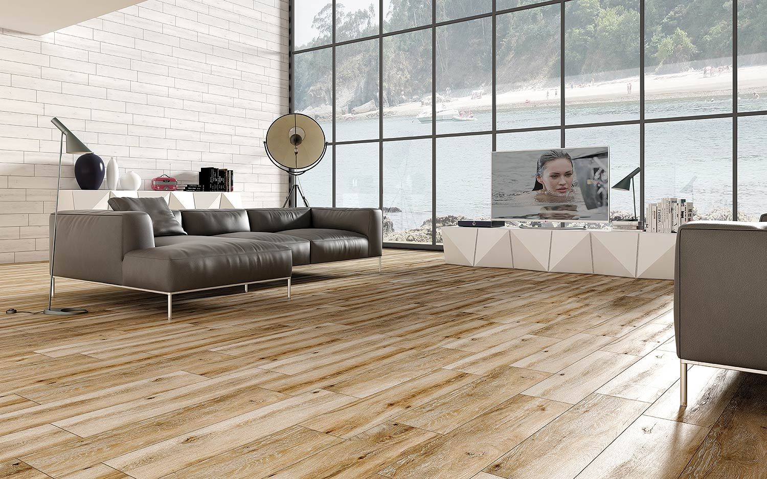 un carrelage imitant le parquet la perfection