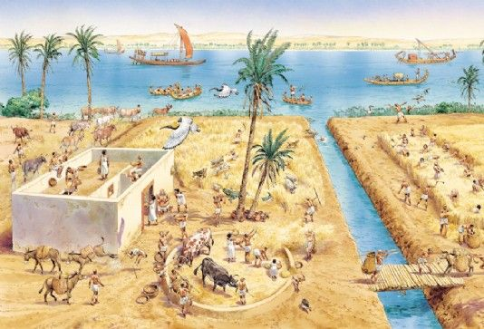 Farming In Ancient Egypt Q Files Encyclopedia Egypt