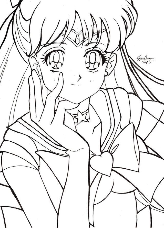Pin by Lesley Ann on Sailor Moon | Pinterest | Sailor venus, Sailor ...