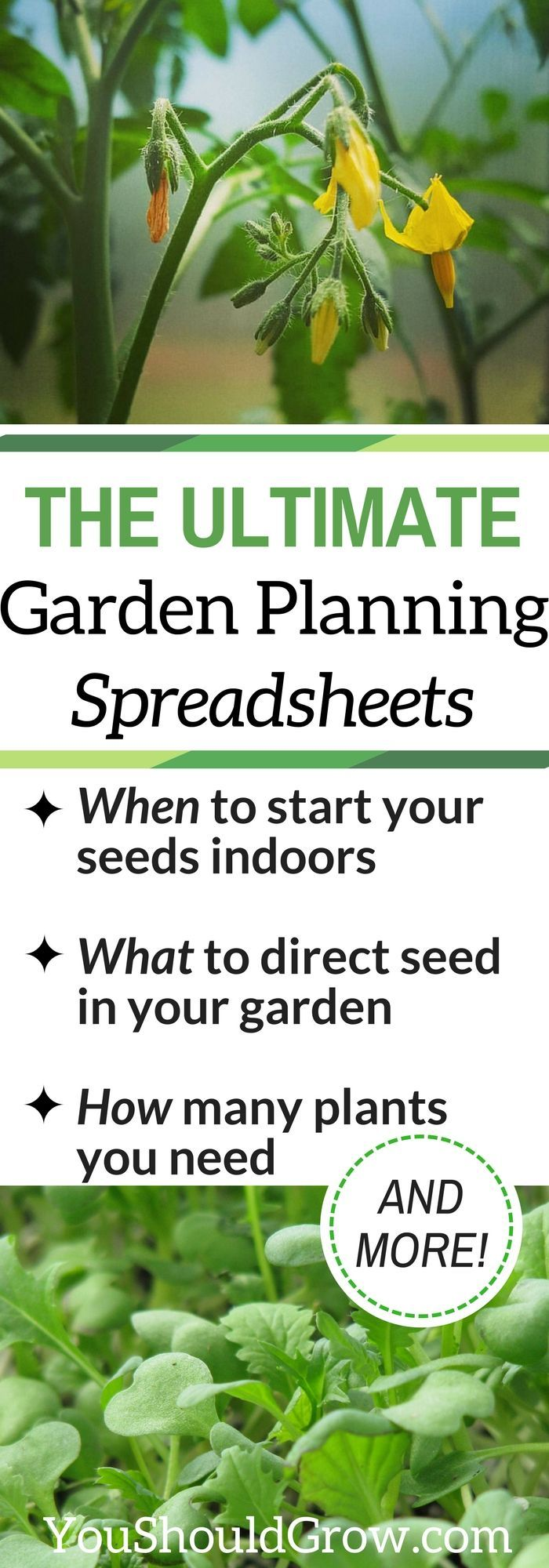 Try These Easy To Use Vegetable Garden Planning Spreadsheets | You Should Grow