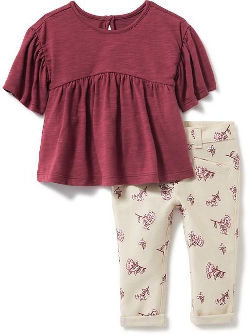 222694e6550 Peasant top and leggings. Old Navy