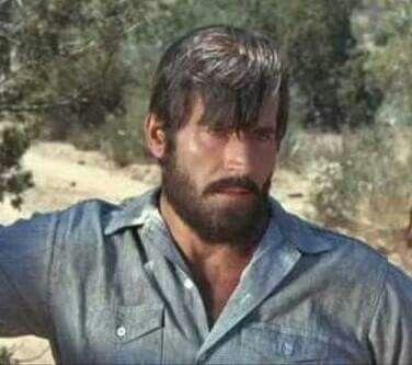 Clint with a beard.