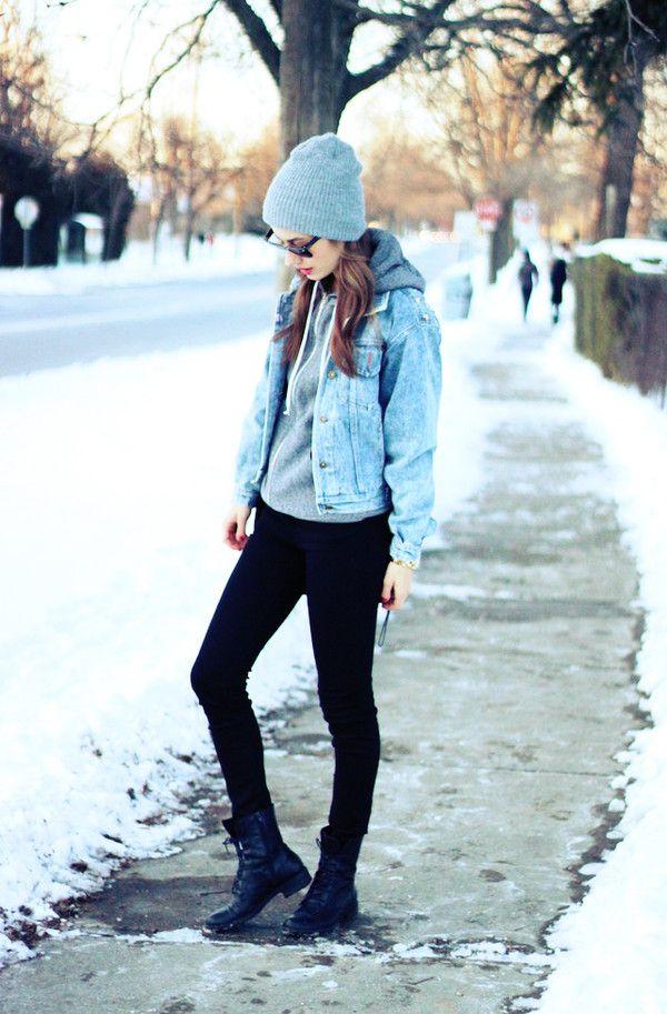 jacket sweater denim jacket black pants combat boots grey hat sunglasses  classisinternal jeans sunglasses hat bag jewels 200cc7dcfdd3