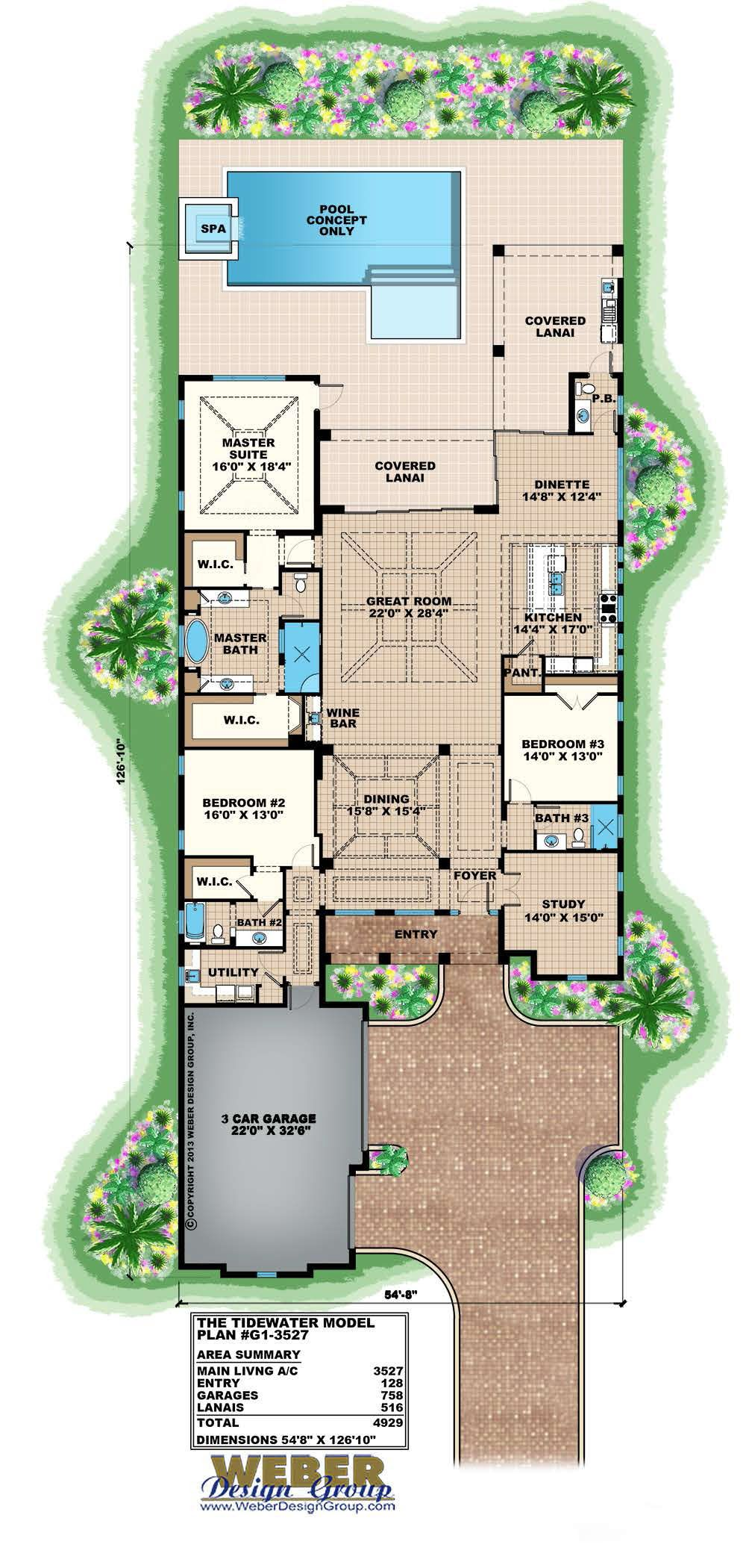 Tidewater Home Plan
